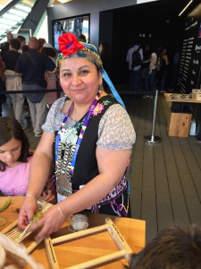 Mapuchefrau aus Chile