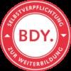 BDY - Selbstverpflichtung zur Weiterbildung